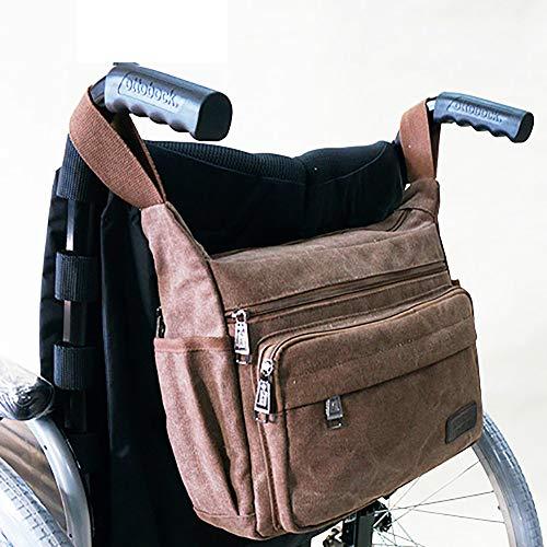 Rolstoel-draagtas, past op de meeste rollators, scooters, stoelen/stoelen, rollators of elektrische rolstoelen, rolstoeltas