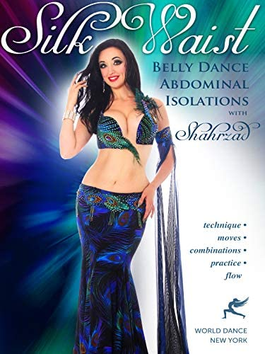 Silk Waist Belly Dance Abdominal Isolations open level bellydance product image