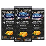 MORE ELECTROLYTES: Pedialyte AdvancedCare Plus powder packets have 33% more electrolytes in every serving to replace more of what you've lost due to dehydration CONVENIENT: It's easy to take powder packs anywhere–just add to water: Great for kids and...