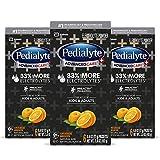 Pedialyte AdvancedCare Plus Electrolyte Powder, with 33% More Electrolytes and PreActiv Prebiotics, Orange Breeze, Electrolyte Drink Powder Packets, 0.6 oz (18 Count)