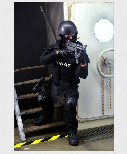 Super System 12'' Special Forces Action Figure - SWAT