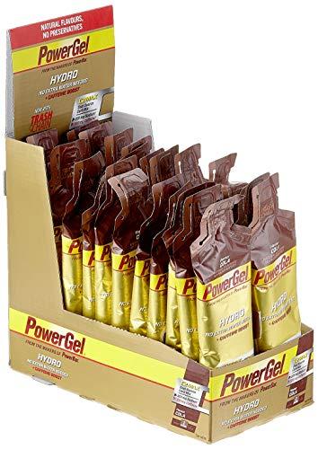 PowerBar Power Gel Hydro mit Kohlenhydraten, Maltodextrin & Natrium – Energie Gels – Vegan – Trinkbar ohne Wasser – 100mg Koffein - Cola (24 x 67 ml)