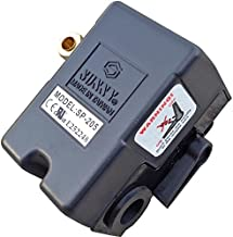Sunny Heavy Duty Air Pressure Control Switch, H1, 1 Port,140-175 PSI, 25 Amp