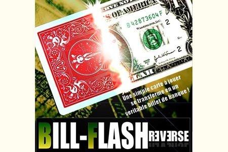 Mickaël Chatelain présente BILL FLASH REVERSE (DVD + Gimmick Rouge)