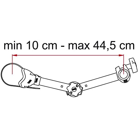 Fiamma Carry Bike Schienenabdeckkappe Rot 1 Stück 98656 079 Auto