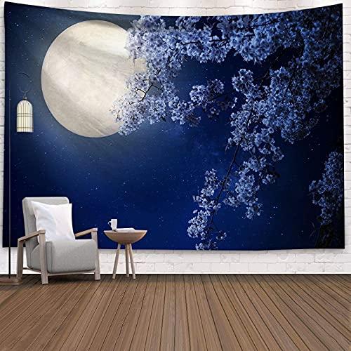 NHhuai Tapiz De Tapices para La Sala De Estar Dormitorio Hermoso Arte Que cuelga la Pared de la decoración del hogar del paño