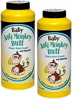 DSE Baby Anti Monkey Butt Diaper Rash Powder,  6 Ounce (Pack of 2)