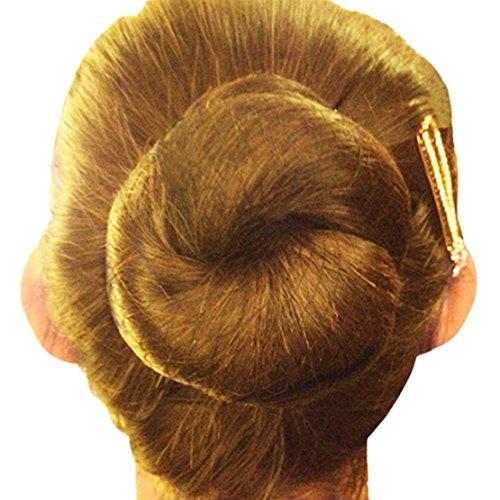 Lot de 20 filets à cheveux invisibles réutilisables avec bord élastique en maille de 50,8 cm