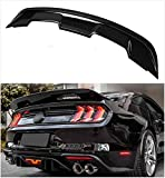 Meyffon Rear Spoiler Compatible with Ford Mustang Coupe 2015-2020 GT500 Style Trunk Spoiler Wing Gloss Black