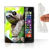 Hülle Für Microsoft Lumia 532 Wilde Tiere Faultier Design
