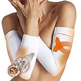 Lytess - Paire de Manchons Bras Anti Cellulite - Raffermissant Anti Cellulite pour Les Bras - Efficacité prouvée - Taille Unique - Blanc