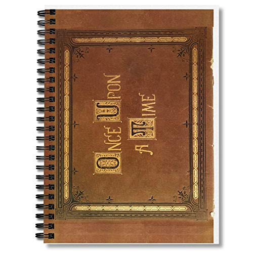 Spiral Notebook Once Upon A Time Large Text Cover Composition Notebooks Journal With Premium Thick Paper