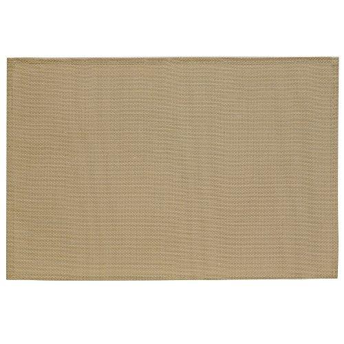 Kela 15613 Neta Set de table PVC/Polyester Beige 45 x 30 x 1 cm