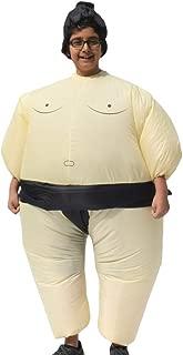 ALEKO ICP08 Halloween Inflatable Party Costume - Sumo Wrestler - Child Sized Beige