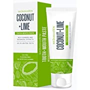 Schmidts Coconut & Lime Toothpaste, 4.70 oz (Pack of 2)