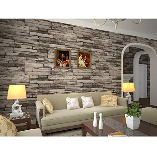 AMHD fotobehang, vintage look, motief marmer, PVC, wanddecoratie voor bars/cafés, restaurants LMD-038