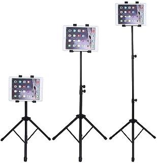 Rubik iPad Tripod Stand, Height Adjustable Foldable Floor Tablet Tripod Stand for Apple iPad Pro 12.9 (2018), iPad Pro 11,...