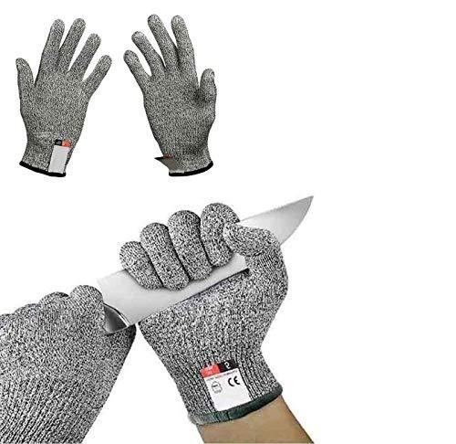 Knife Proof, Cut Resistant Gloves, Work Gloves, Food Grade Level 5...