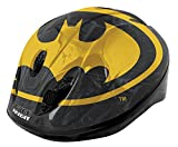 BATMAN Boys Safety Helmet-Black/Yellow, 52-56 cm