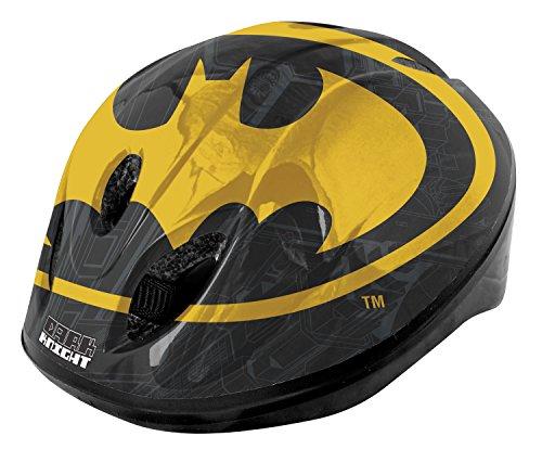 Batman Boy\'Damen Schutzhelm, Schwarz/Gelb, 52-56 cm