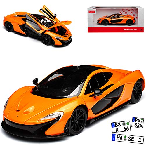 rastar McLaren P1 Coupe Orange 2013-2015 1/24 Modell Auto