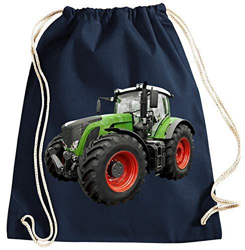 Blackshirt Company Traktor Turnbeutel Schlepper Rucksack Sportbag Farbig Farbe Dunkelblau