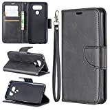 Sac de téléphone portable Étui pour portefeuille multifonctionnel LG G6 Portefeuille mobile Coque...
