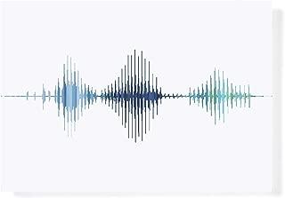 custom sound wave art