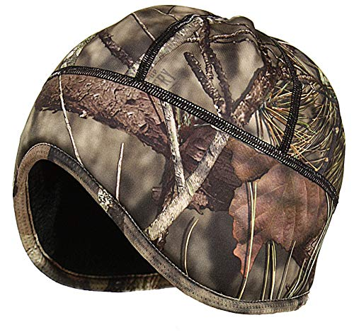 Zeek Outfitter Camo Ear Flap Beanie with Thinsulate (Mossy Oak Country/Black Reversible)