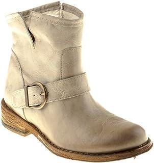 para barato Felmini Zapatos Para Mujer - Enamorarse com Grojoo A946 - - - botas Classic - Cuero Genuino - Beige  edición limitada en caliente