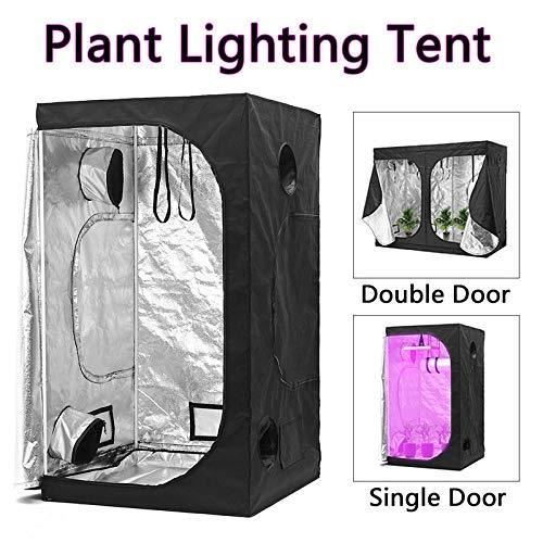 SISHUINIANHUA Indoor Growing Zelte hydroponischen Treibhausbauende Pflanze Beleuchtung Reflektierende Zeltraum Box Startseite