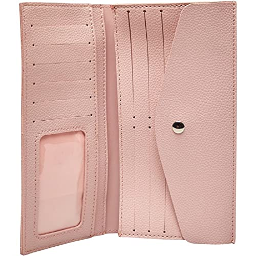 French Connection Monedero plegable para mujer, color rosa