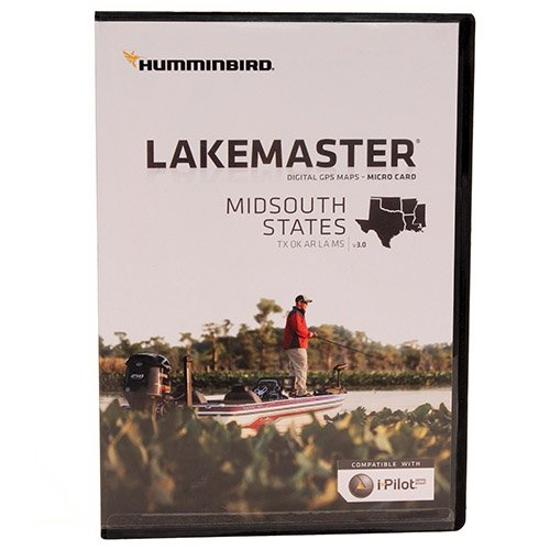 Buy Bargain Humminbird Mid South States Map Card