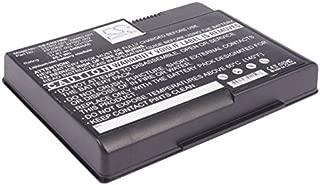 Replacement Battery for Replacement Battery for COMPAQ PRESARIO X1000 X1000-DE185AV X1000-DE186AV X1000-DE707AV X1000-DK454AV X1001US X1001US-DK575A PN 336962-001 337607-001 337607-002 PP2080 PP2082P