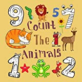 Count The Animals : Fun Puzzle Books For 2-5 Year Olds (English Edition)