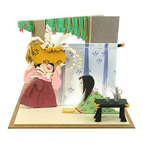 さんけい スタジオジブリmini かぐや姫の物語 女童とかぐや姫 ペーパークラフト MP07-107