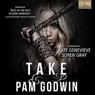 Take audiobook cover art