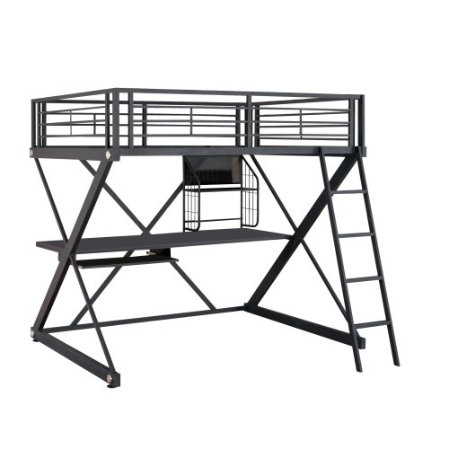 Find A Full Size Loft Bed With Desk Underneath Perfect