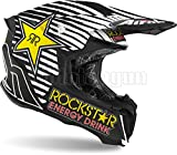 AIROH TW2RK35 CASCO MOTO CROSS MATTO TWIST 2.0 ROCKSTAR 2020 TG.L