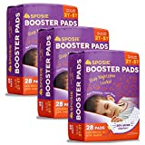 Sposie Adhesive Overnight Baby Diaper Booster Pads/Doublers | 84 ct. 3 Packs of
