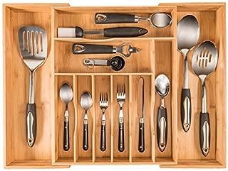 felt lined silverware drawer organizer