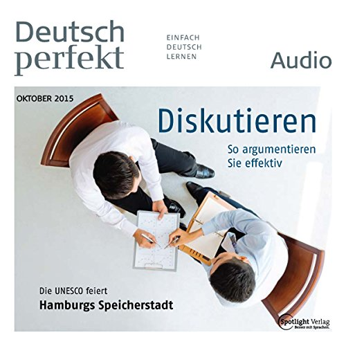 Deutsch perfekt Audio - Diskutieren. 10/2015 cover art