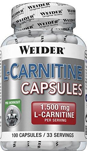 Weider L-Carnitine Capsule, 100 Capsule