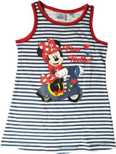 Disney Minnie Maus Sommerkleid - Ciao Bella! - Blau/Weiß