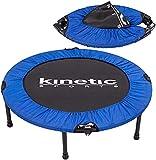 Kinetic Sports Fitness Trampolin, TOP Marke Testbild Auszeichnung!, Indoor Minitrampolin,...