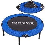 Kinetic Sports Fitness Trampolin, TOP Marke Testbild Auszeichnung!, Indoor Minitrampolin, Sprungtraining, Smart Jumping Workout, platzsparend faltbar, Ø 96cm, bis 100kg