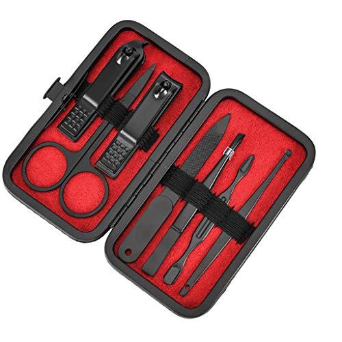 Coupe-ongles Kits, Fulltime 7 pièces En Acier Inoxydable Nail clippers Ciseaux Set Manucure
