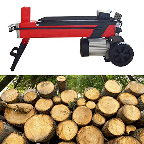 Best Bargain INTBUYING 4T Log Splitter Electric Household Wood Splitting Machine for Splitting Log P...