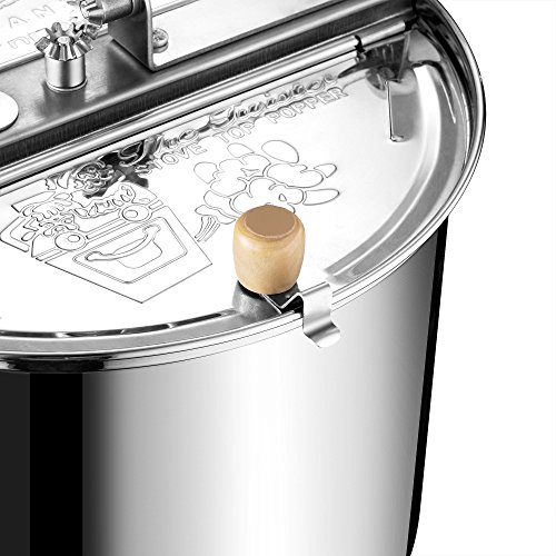 Product Image 8: Great Northern Popcorn Original Stainless Steel Stove Top 6-1/2-Quart Popcorn Popper