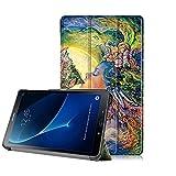 DETUOSI Funda para Samsung Galaxy Tab A 10.1 2016 SM-T580 Funda Libro Tab A6 10.1 2016 Book Cover